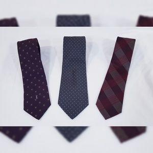 YSL Brooks Bros. Calvin Klein Neck Tie Bundle